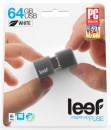 Leef USB 64GB Fuse 2.0 charcoal white