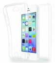Azuri TPU Front&Back pouzdro iPhone 5/5S/SE, Clear