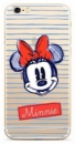 Disney Minnie 011 Back Cover Galaxy J6 2018, Clear