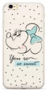 Disney Minnie 042 Back Cover iPhone XS, White