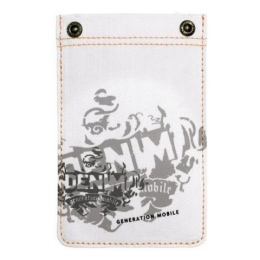 GOLLA G1070 Phone Pocket Rivetto White Gray